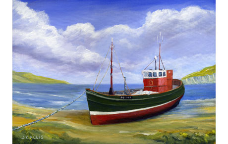 Fishing Boat Donegal